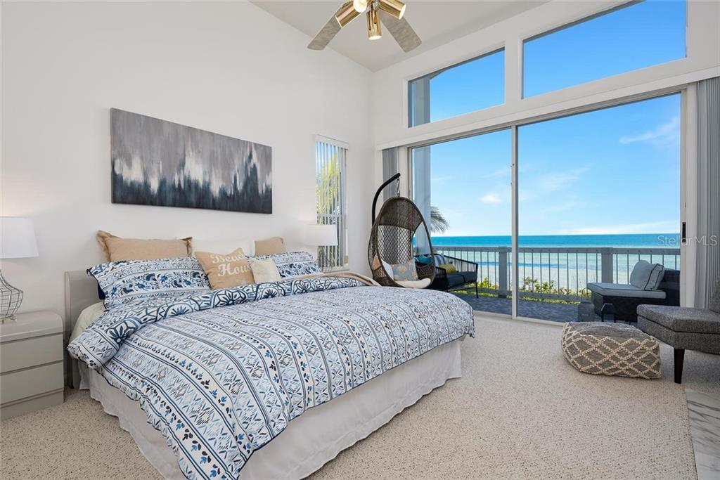 Master bedroom overlooking Tampa Bay - Single Family Home for sale at 710 S Bay Blvd, Anna Maria, FL 34216 - MLS Number is A4461640