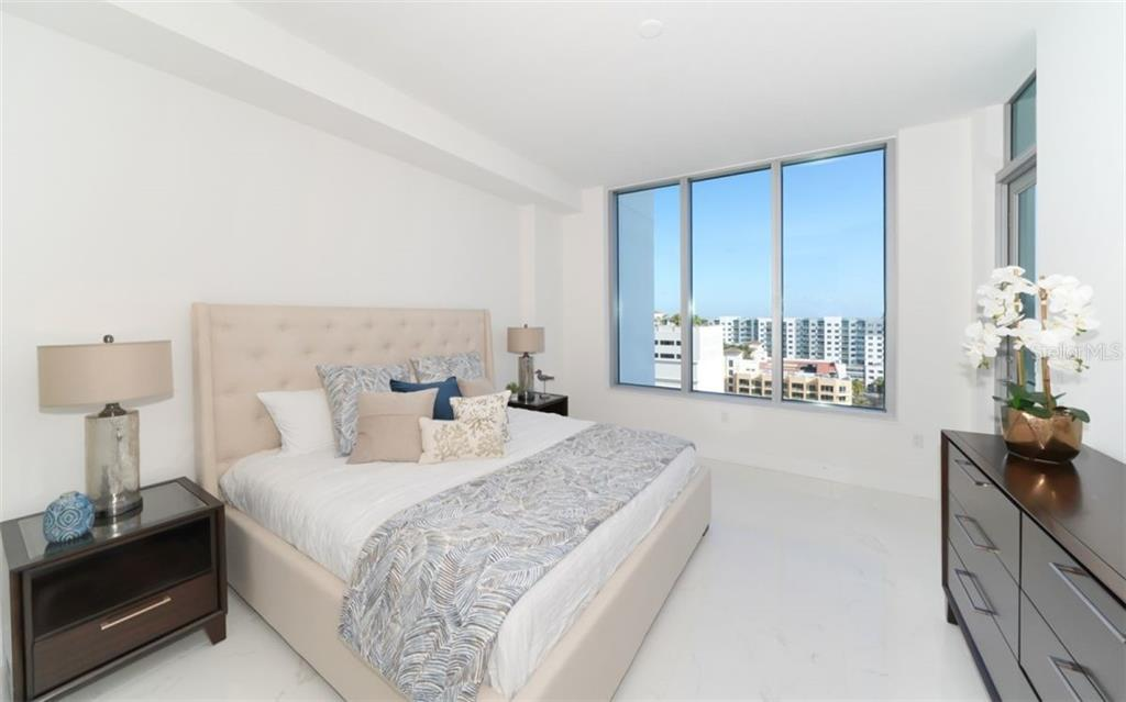Master suite. - Condo for sale at 111 S Pineapple Ave #1117 L-1, Sarasota, FL 34236 - MLS Number is A4461778