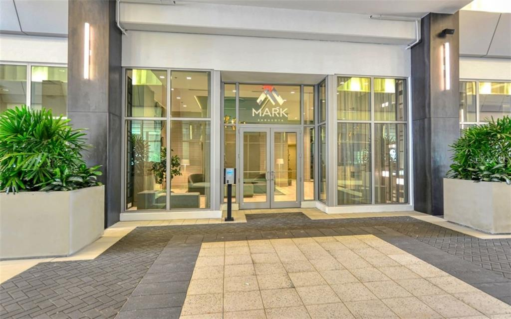 The Mark - Main Entrance - Condo for sale at 111 S Pineapple Ave #1117 L-1, Sarasota, FL 34236 - MLS Number is A4461778