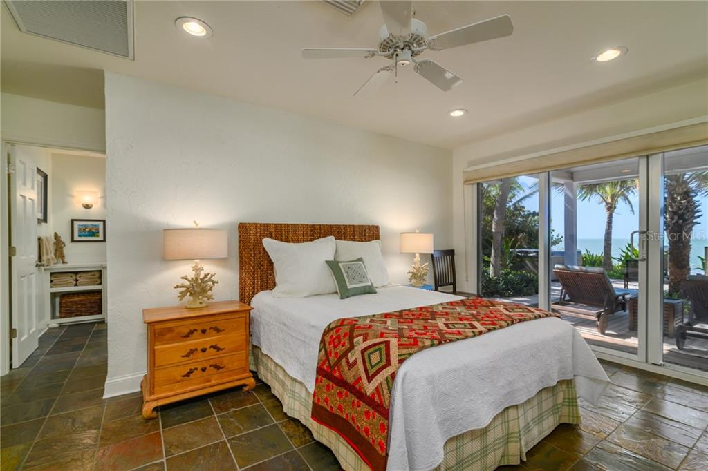 Gulf Suite = Bedroom #1 in MLS - Single Family Home for sale at 7340 Point Of Rocks Rd, Sarasota, FL 34242 - MLS Number is A4461841