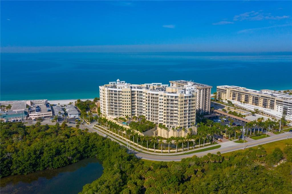 The Beach Residences at Ritz  Carlton on Lido Key on Gulf of Mexico - Condo for sale at 1300 Benjamin Franklin Dr #805, Sarasota, FL 34236 - MLS Number is A4462621