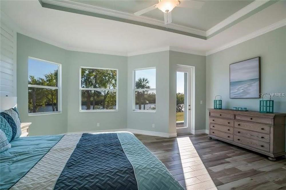 Heron Bedroom - Single Family Home for sale at 5485 56th Ct E, Bradenton, FL 34203 - MLS Number is A4463869