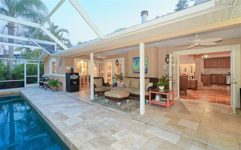 GREAT SUNSET PORCH FOR YOUR ALFRESCO DINNERS - Single Family Home for sale at 3 Winslow Pl, Longboat Key, FL 34228 - MLS Number is A4464990