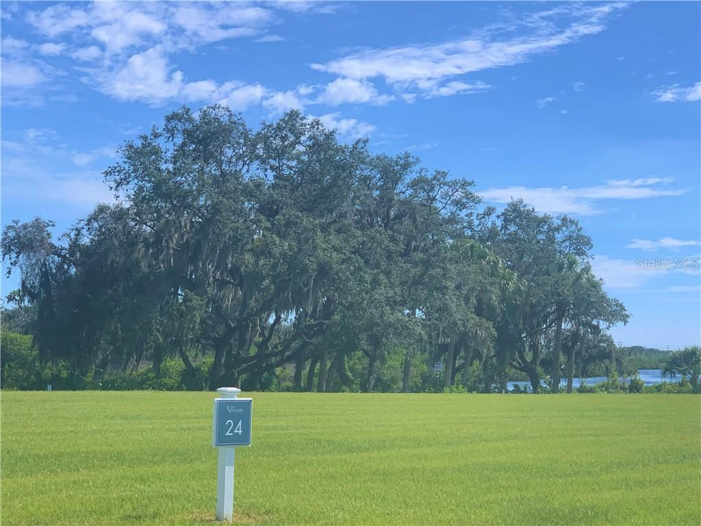 Beautiful Oak Trees can be cleaned-up for maximum view of the river and sunsets - Vacant Land for sale at 1730 Rio Vista Ter, Parrish, FL 34219 - MLS Number is A4470590