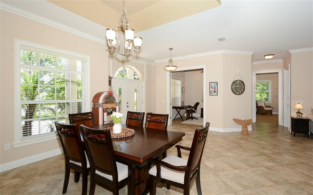 Formal Dining Room - Single Family Home for sale at 1623 Jacana Ct, Nokomis, FL 34275 - MLS Number is A4470679