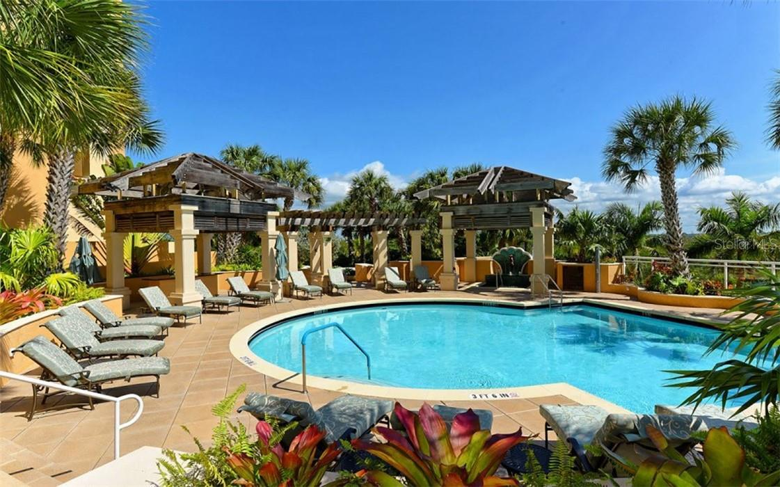 The Beach Residence aerial - Condo for sale at 1300 Benjamin Franklin Dr #708, Sarasota, FL 34236 - MLS Number is A4471978