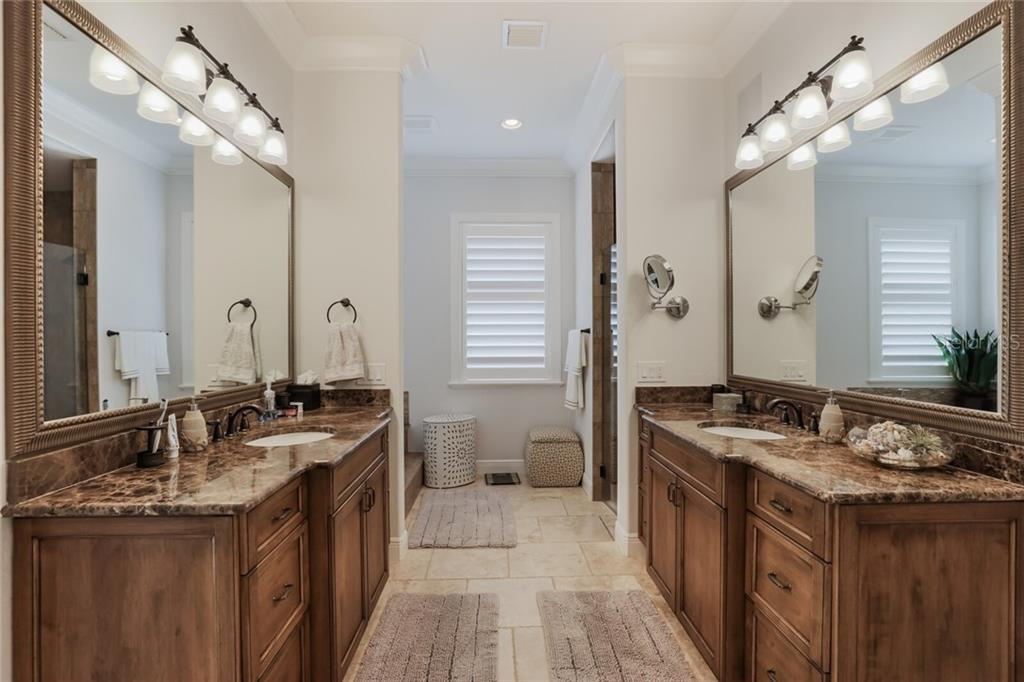 Master Bathroom - Single Family Home for sale at 1800 Loma Linda St, Sarasota, FL 34239 - MLS Number is A4474193