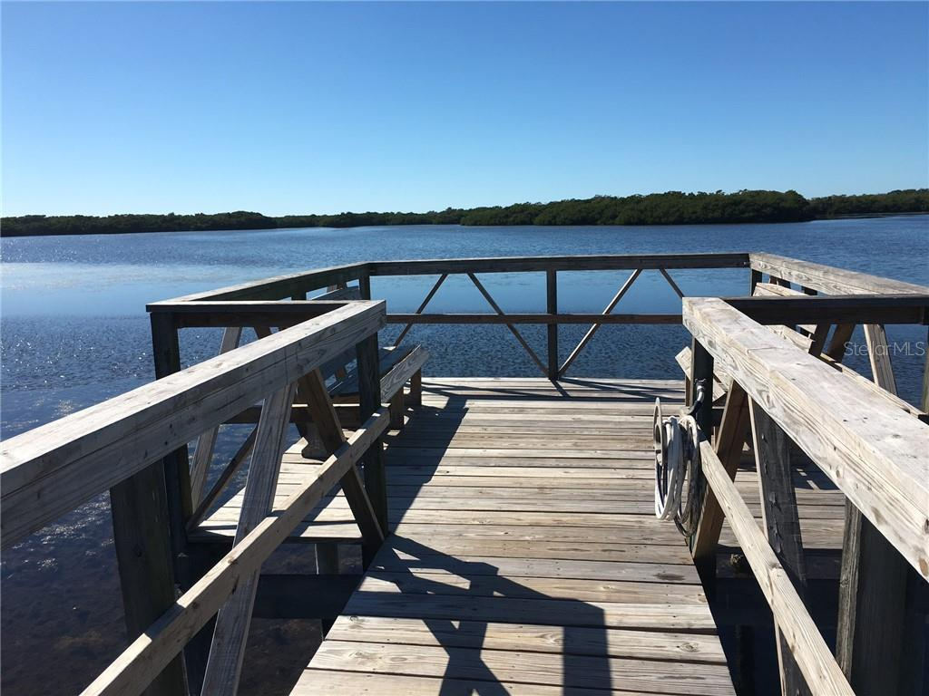 Fishing pier. - Condo for sale at 977 Sandpiper Cir #977, Bradenton, FL 34209 - MLS Number is A4474554