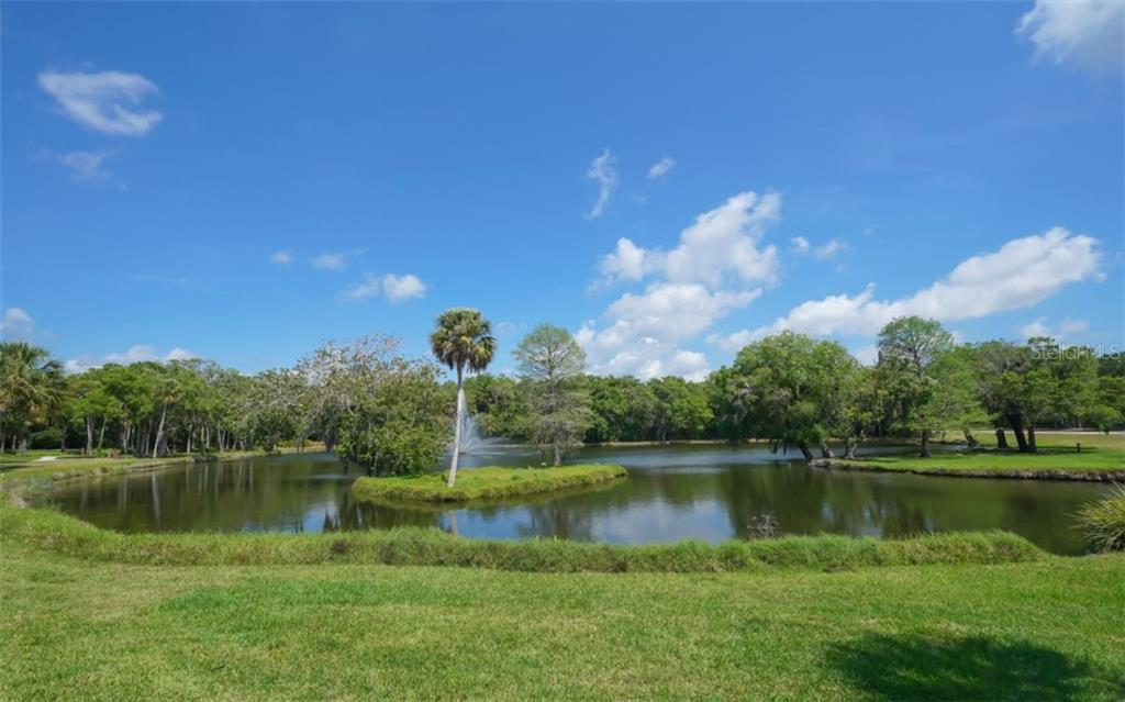 The Meadows commumnity has many lakes and walking trails.  You can have a get-a-way just by walking out the door! - Single Family Home for sale at 3538 Trebor Ln, Sarasota, FL 34235 - MLS Number is A4475545