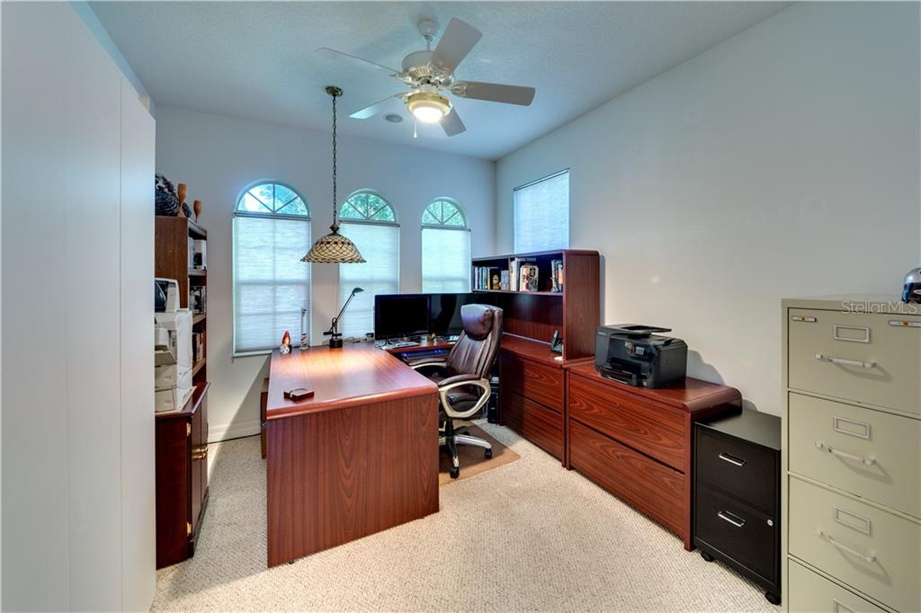 Bedroom 3/Office - Single Family Home for sale at 701 Misty Pond Ct, Bradenton, FL 34212 - MLS Number is A4476203