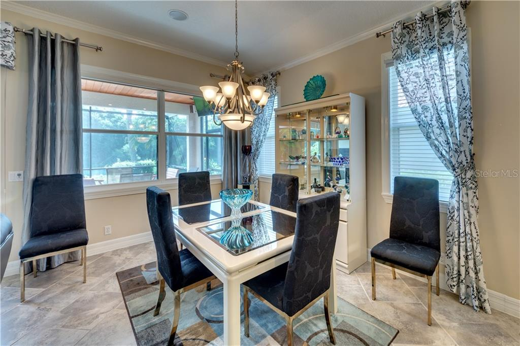 Dining Area - Single Family Home for sale at 701 Misty Pond Ct, Bradenton, FL 34212 - MLS Number is A4476203