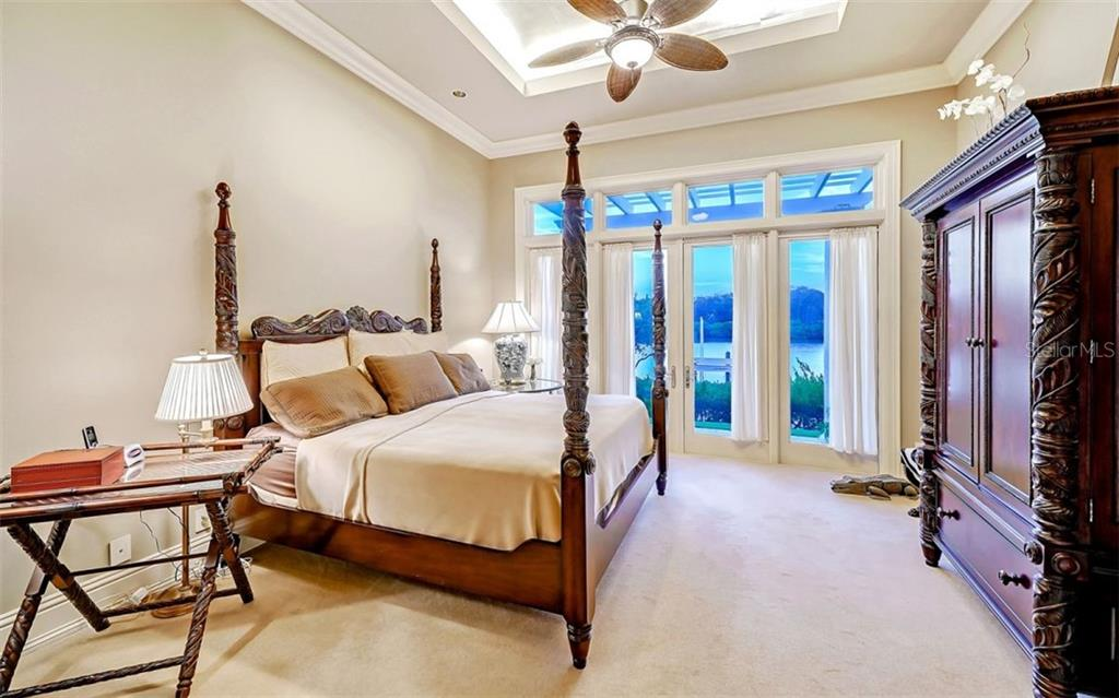 Master Bedroom - Single Family Home for sale at 35 Lighthouse Point Dr, Longboat Key, FL 34228 - MLS Number is A4477572