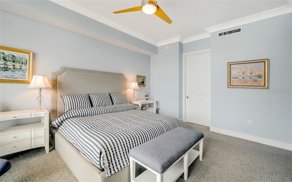 Another view of the master bedroom - Condo for sale at 1350 Main St #1601, Sarasota, FL 34236 - MLS Number is A4478753