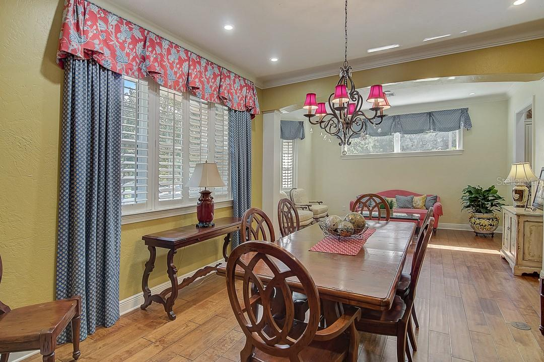 Dining room - Single Family Home for sale at 1839 Buccaneer Ct, Sarasota, FL 34231 - MLS Number is A4479580