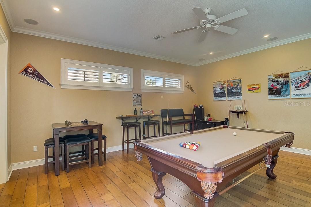 Game room - Single Family Home for sale at 1839 Buccaneer Ct, Sarasota, FL 34231 - MLS Number is A4479580