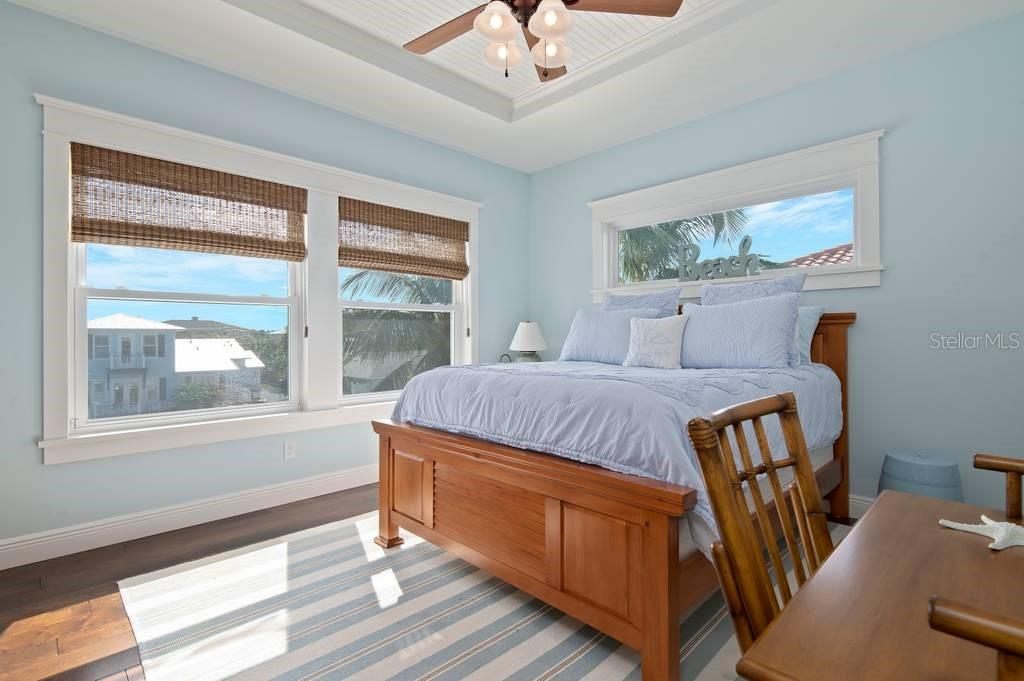 Third floor bedroom. - Single Family Home for sale at 718 Key Royale Dr, Holmes Beach, FL 34217 - MLS Number is A4480381