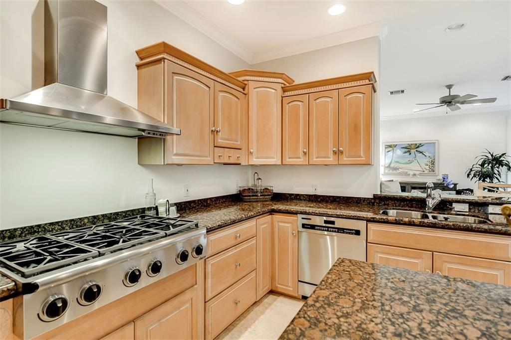 Custom cabinetry & Stainless Steel appliances to delight any chef ! - Single Family Home for sale at 501 Cutter Ln, Longboat Key, FL 34228 - MLS Number is A4480484