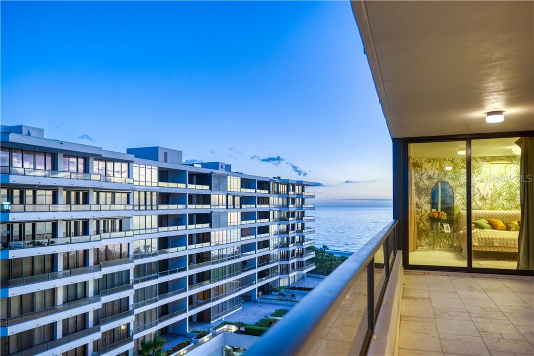 One of views to water - Condo for sale at 545 Sanctuary Dr #B706, Longboat Key, FL 34228 - MLS Number is A4483212