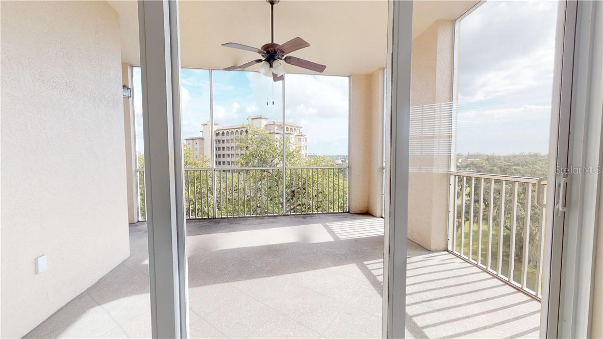 From living room to lanai view - Condo for sale at 5591 Cannes Cir #506, Sarasota, FL 34231 - MLS Number is A4484243