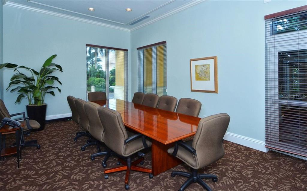 Media room - Condo for sale at 800 N Tamiami Trl #1007, Sarasota, FL 34236 - MLS Number is A4485565