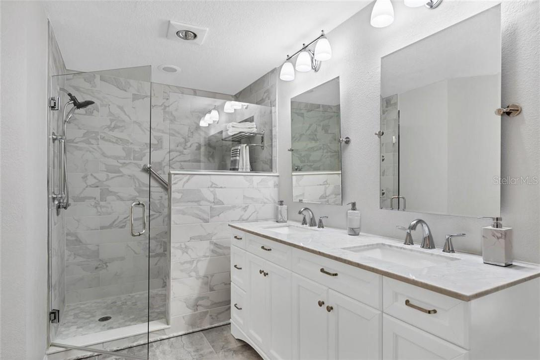new master bathroom - Condo for sale at 4634 Mirada Way #29, Sarasota, FL 34238 - MLS Number is A4486383