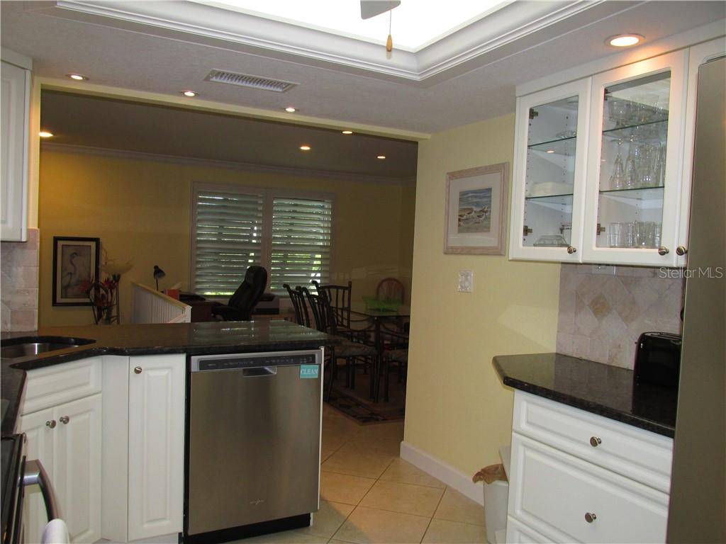 KITCHEN - Condo for sale at 1087 W Peppertree Dr #221d, Sarasota, FL 34242 - MLS Number is A4493593