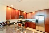 The kitchen has abundant work space and great storage - Condo for sale at 1771 Ringling Blvd #609, Sarasota, FL 34236 - MLS Number is A4201774