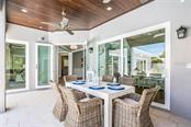 Al Fresco Dining - Single Family Home for sale at 601 Triton Bnd, Longboat Key, FL 34228 - MLS Number is A4215179