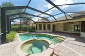 Pool with spa and pavered lanai - Single Family Home for sale at 13219 Palmers Creek Ter, Lakewood Ranch, FL 34202 - MLS Number is A4407857
