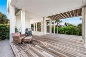 Back Patio - Single Family Home for sale at 7130 Longboat Dr E, Longboat Key, FL 34228 - MLS Number is A4418105