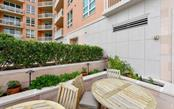 An herb garden provides extra special flavor! - Condo for sale at 1350 Main St #1201, Sarasota, FL 34236 - MLS Number is A4427507
