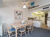 Dining Room off the kitchen. - Condo for sale at 4621 Gulf Of Mexico Dr #14d, Longboat Key, FL 34228 - MLS Number is A4435849