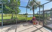 Extended lanai to take in the views. - Single Family Home for sale at 114 Padova Way #52, North Venice, FL 34275 - MLS Number is A4442496
