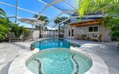 Heated saltwater pool and Jacuzzi constructed in 2018 - Single Family Home for sale at 623 Avenida Del Norte, Sarasota, FL 34242 - MLS Number is A4454692