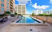 72' lap pool - Condo for sale at 1350 Main St #1001, Sarasota, FL 34236 - MLS Number is A4472708