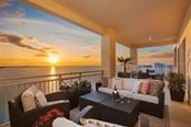 Sunset from Main Terrace - Condo for sale at 35 Watergate Dr #1803, Sarasota, FL 34236 - MLS Number is A4476458