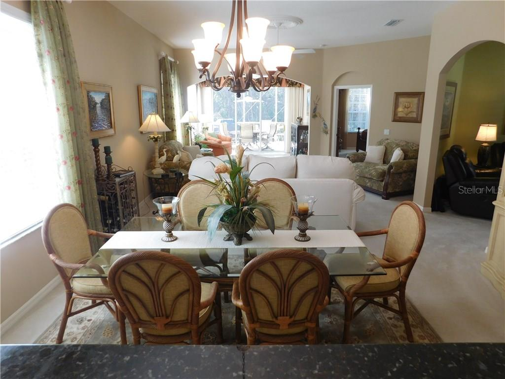 Dining Room / Living Room Combo - Villa for sale at 1578 Monarch Dr #1578, Venice, FL 34293 - MLS Number is N5911451