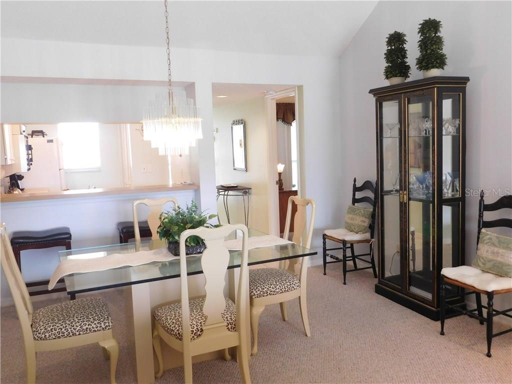 Dining Room - Condo for sale at 435 Cerromar Ln #428, Venice, FL 34293 - MLS Number is N5911454