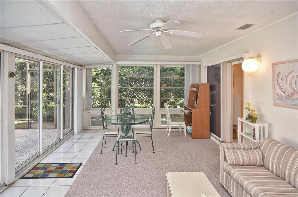Florida room - Single Family Home for sale at 1410 Strada D Argento, Venice, FL 34292 - MLS Number is N5914540