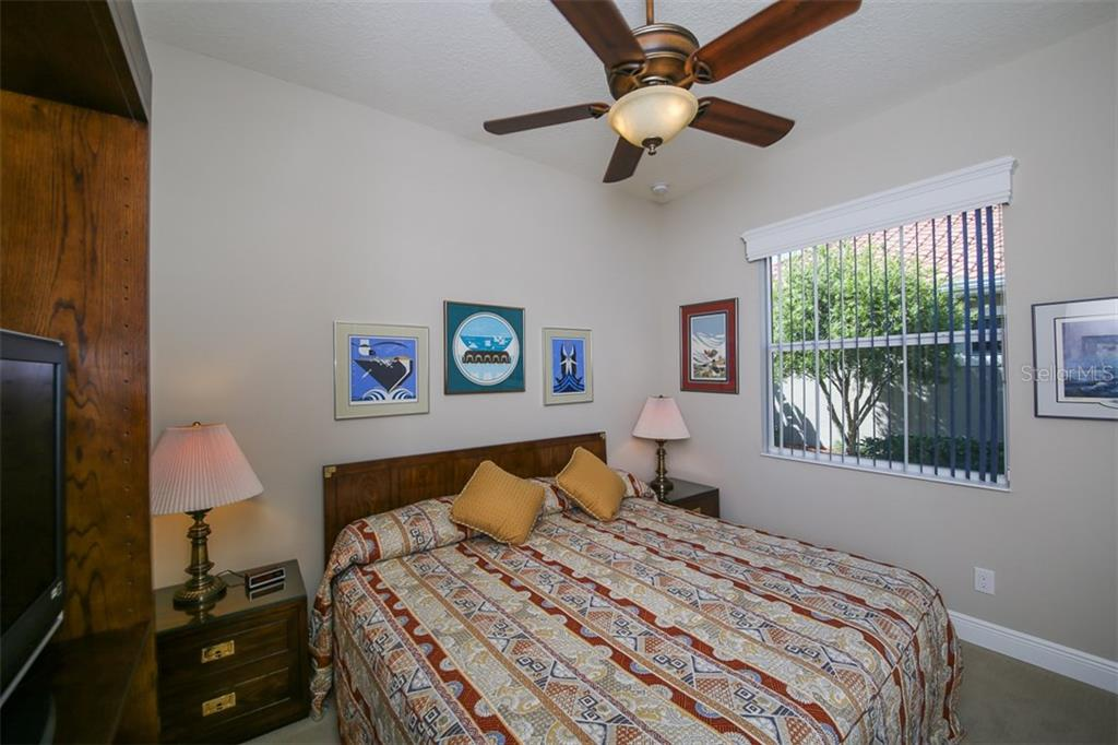 Bedroom 3. - Single Family Home for sale at 190 Portofino Dr, North Venice, FL 34275 - MLS Number is N5915077