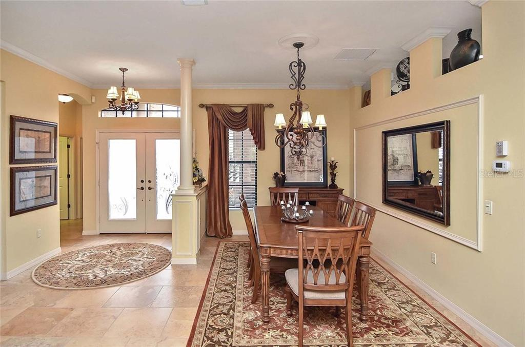 Foyer/dining room - Single Family Home for sale at 769 Sawgrass Bridge Rd, Venice, FL 34292 - MLS Number is N5916484