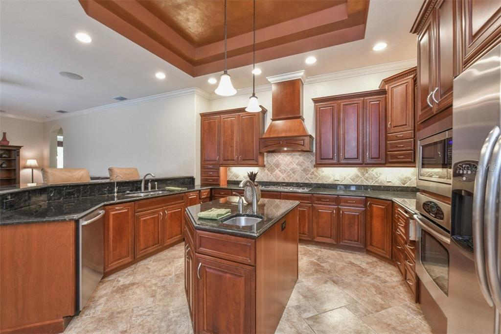Kitchen - Single Family Home for sale at 5515 Reisterstown Rd, North Port, FL 34291 - MLS Number is N6100346