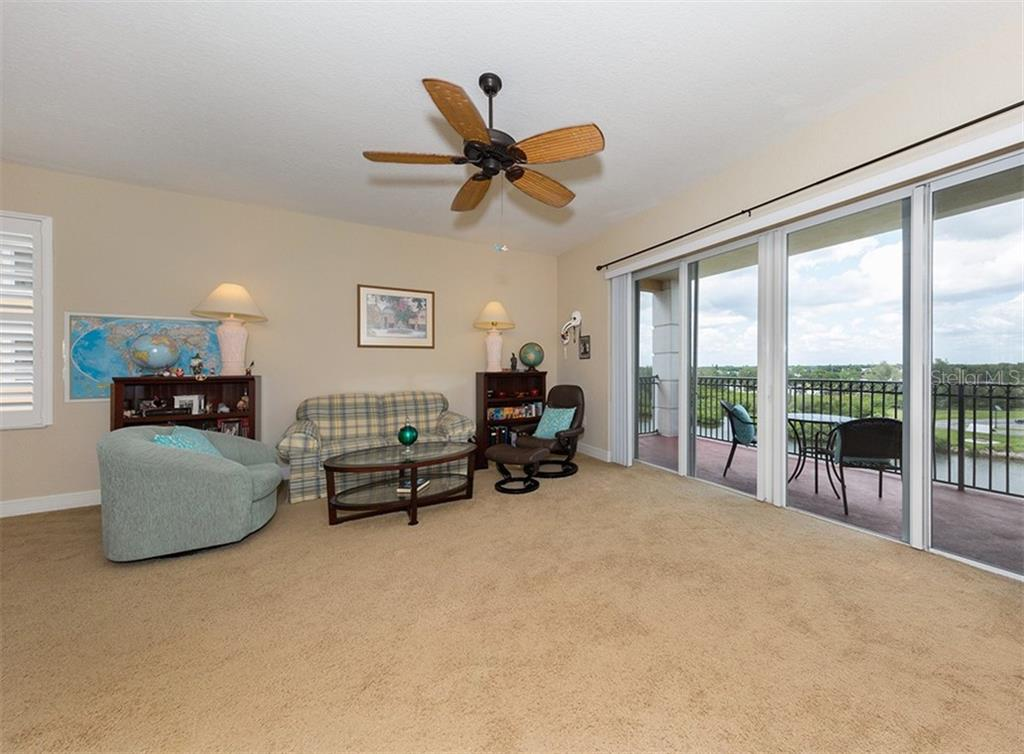 Living room - Condo for sale at 167 Tampa Ave E #612, Venice, FL 34285 - MLS Number is N6100834