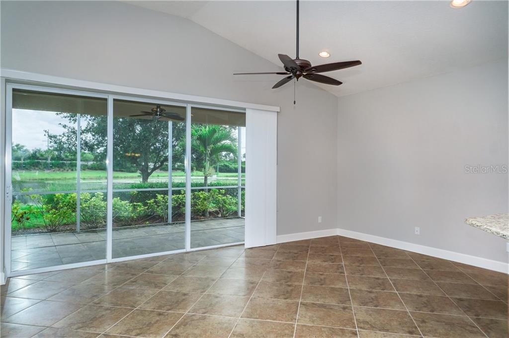 Great Room has Lake View - Single Family Home for sale at 2290 Terracina Dr, Venice, FL 34292 - MLS Number is N6101301