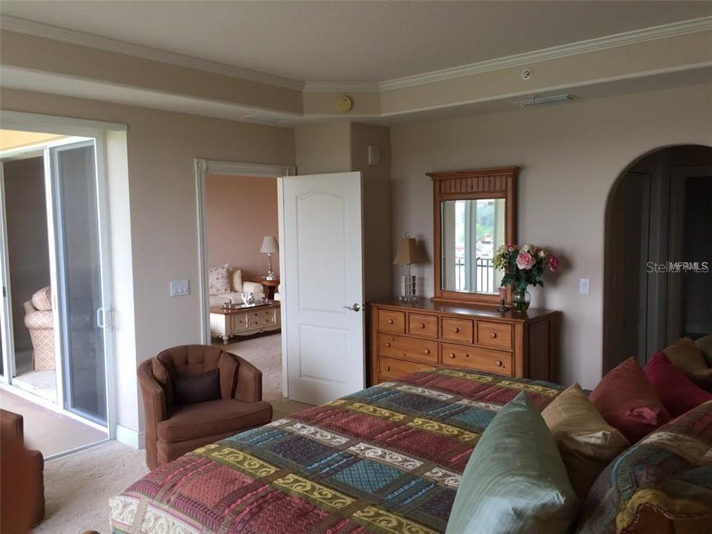 Master Bedroom...slider to balcony as well... - Condo for sale at 157 Tampa Ave E #407, Venice, FL 34285 - MLS Number is N6101715