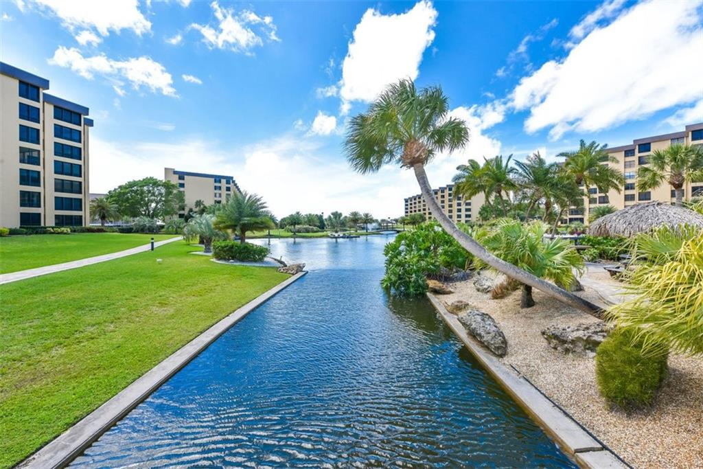 FRESHWATER WATERWAY AND POND - Condo for sale at 5740 Midnight Pass Rd #505 F, Sarasota, FL 34242 - MLS Number is N6102195