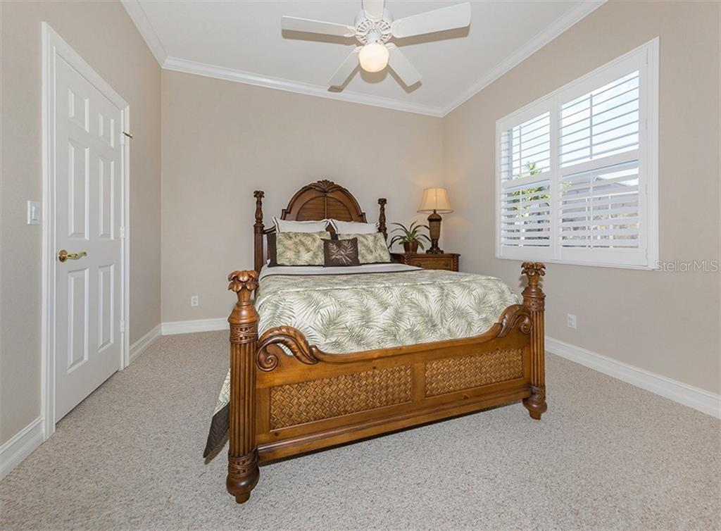 Bedroom 2 - Single Family Home for sale at 110 Martellago Dr, North Venice, FL 34275 - MLS Number is N6103159
