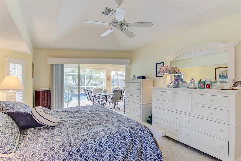 Master Bedroom - Single Family Home for sale at 531 Pennyroyal Pl, Venice, FL 34293 - MLS Number is N6103229