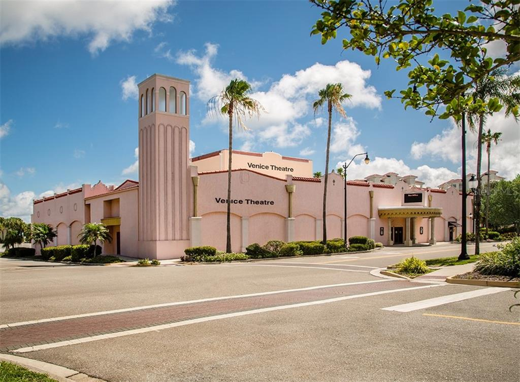 Enjoy the Venice Theater within minutes of home! - Single Family Home for sale at 109 Alba St W, Venice, FL 34285 - MLS Number is N6105330