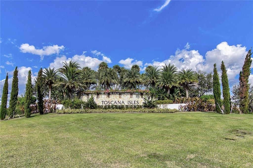 Community sign - Single Family Home for sale at 166 Toscavilla Blvd, Nokomis, FL 34275 - MLS Number is N6105654